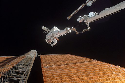 Space, Astronaut, Space-suit, Nasa, Space Walk