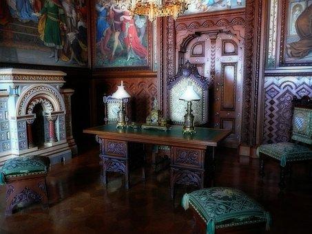 Study Room, King Ludwig The Second, Bavaria