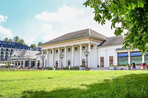 Baden Baden, Kurhaus, Casino, Tourism, Spring, Summer