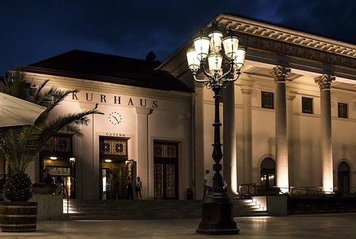 Baden Baden, Kurhaus, Casino, Tourism, Summer, Spring
