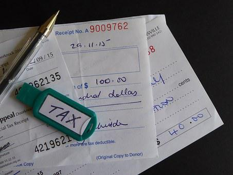 Tax, Charity, Donation, Receipt, Deduction, Donate