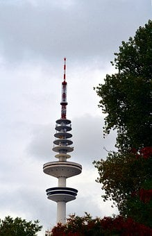 Tv Tower, Heinrich-hertz-turm, Building, Tower, High