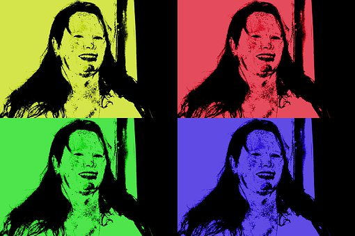 Pop, Warhol, Retro, Andy, Colorful, Pop-art, Popart