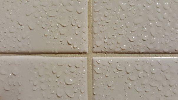 Tiles, Tiled, Wet, Bathroom, Bathroom Tiles, Shower