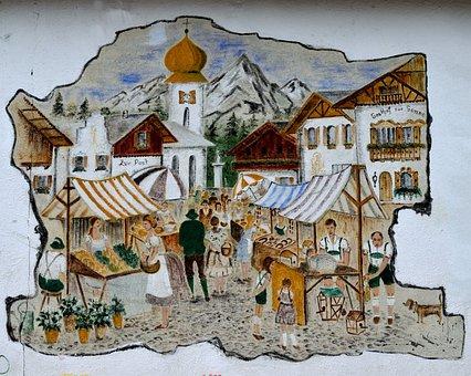 Alpine Village, Store Front, German Town, Tourism, Shop