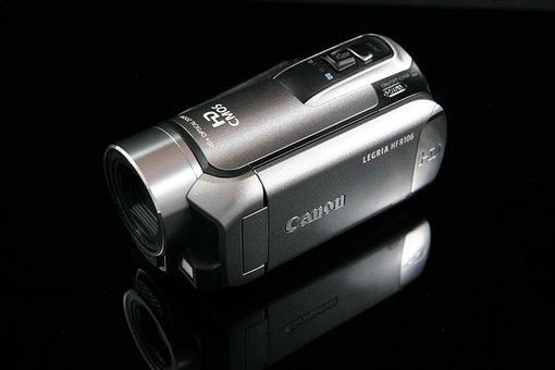 Camera, Video Camera, Audiovisual, Video