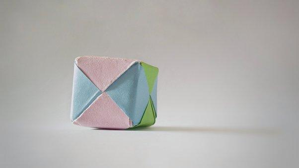Backround, Cube, Background, Game, Folding, Origami