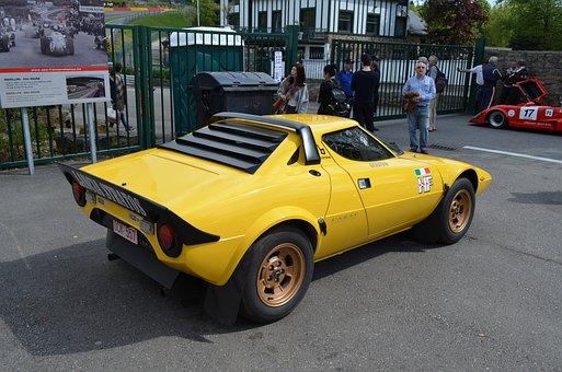 Car, Lancia Stratos, Seam Race