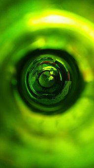 Abstract, Green, Champagne