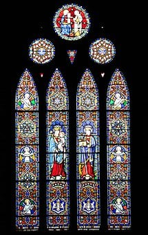 Vitrage, Stained Glass, Church Window, Artfully