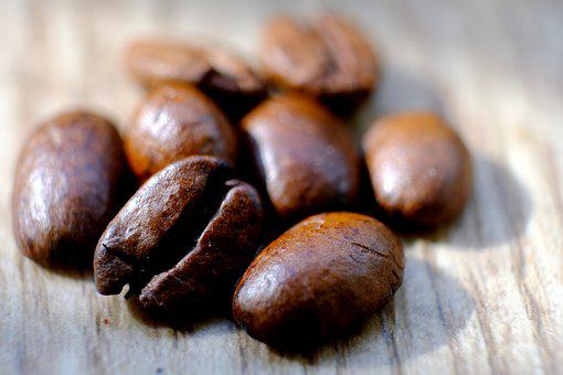 Coffee Beans, Coffee, Beans, Macro, Caffeine, Cafe