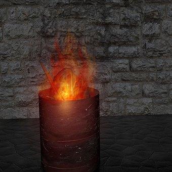 Fire, Ton, Flame, Warm, Burn, Heat, Kindle, Radio