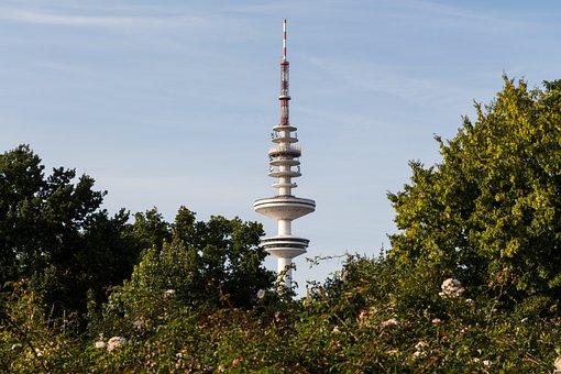 Tv Tower, Hamburg, Exhibition Halls, Germany