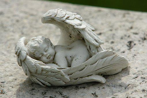 Angel, Angel Figure, Harmony, Cemetery, Wing, Sweet