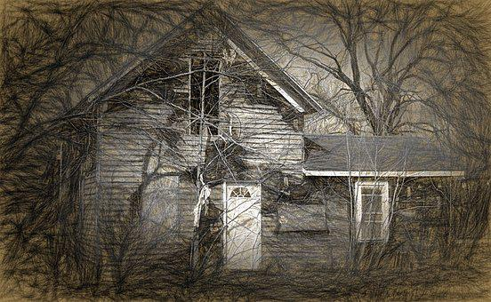 House, Haunted, Haunted House, Halloween, Scary, Spooky