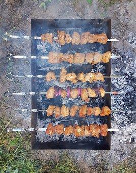 Background, Bbq, Beef, Steak, Chicken, Krupnyj Plan