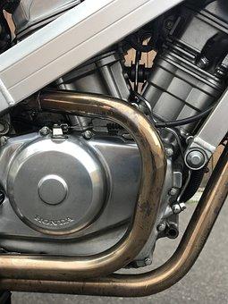 Honda Hawk, Motor, Motorcycle, Machine