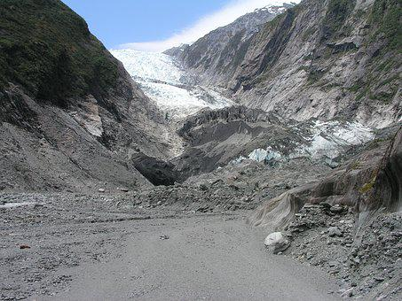 New, Zealand, Franz Josef, Glacier, New Zealand, Nature