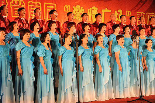 Square, Red Song, Old Age, Chorus, Game, Singing
