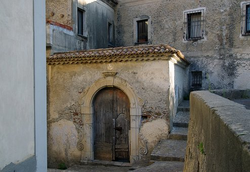 Door, Wood, Old Gate, The Old Palace, Old Town