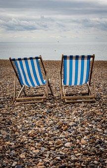 Deck Chair, Beach, Coast, Chair, Deck, Relax, Summer