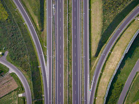 Way, Crossover, Street, Highway, Infrastructure, Road