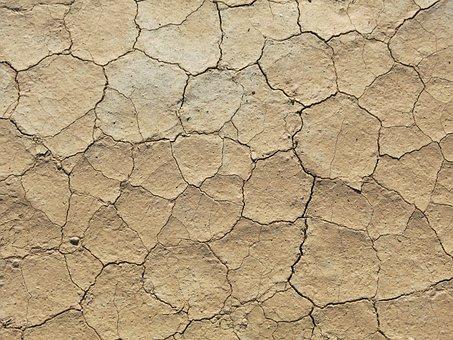 Dry, Desert, Hot, Sahara, Dehydrated, Structure