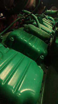 Diesel, Engine, Piston, Mechanic, Machinery, Technology