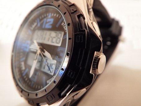 Watch, Wristwatch, Time, Clock, Wrist, Hand, Technology