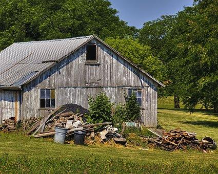 Shed, Sheds, Barns, Rustic, Art, Digital Art, Artistic