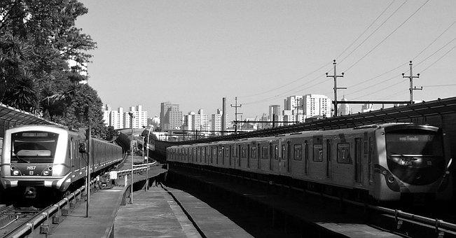 Subway, The Periphery, São Paulo, Sp, Brazil, Transport