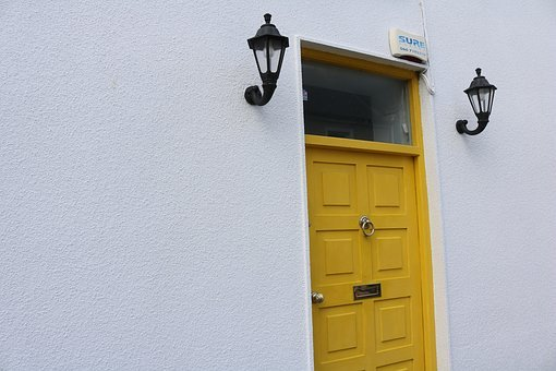 Door, Input, House Entrance, Front Door, Come In, Goal