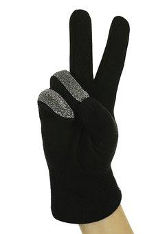 Black, Two, Glove, El, Finger, Msn Letters, Concepts