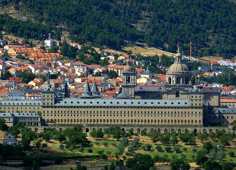 España La Bella, Panorama, El Escorial, Spain