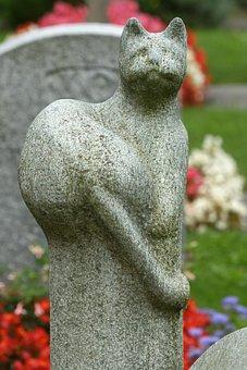 Cat, Sculpture, Craft, Art, Figure, Statue, Deco