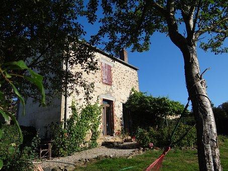 Burgundy, France, Campaign, House, Cottage