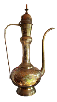 Brass, Pot, Decoration, Kettle, Household, Ornament