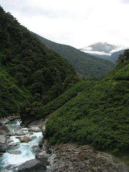 New Zealand, New, Zealand, Gates Of Haast, Nature