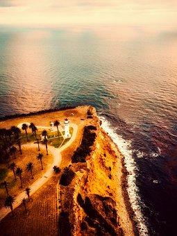 Rancho Palos Verdes, California, Sea, Ocean, Seashore