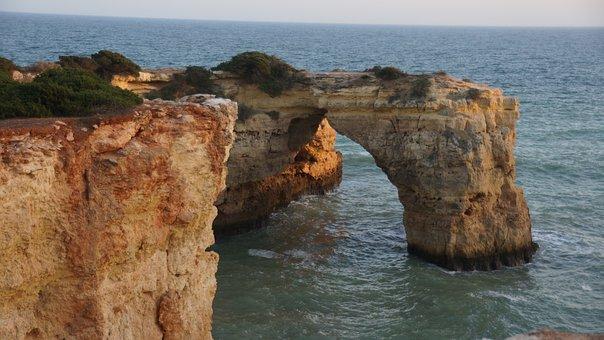Algarve, Coast, Portugal, Rock Arch