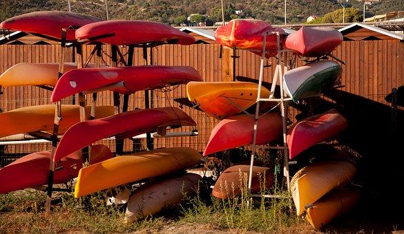 Canoeing, Sport, Summer, Sea, Sestri Levante, Liguria