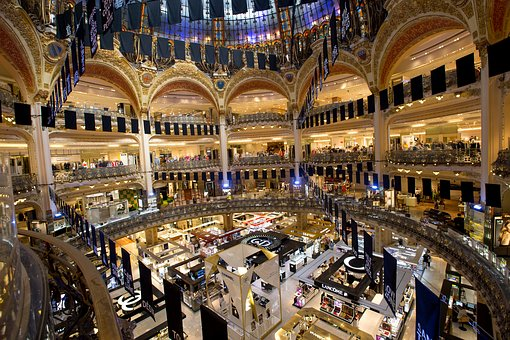 Paris, Gallery The Galeries, Shopping, Beauty, Luxury