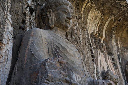 Longmen Grottoes, Luoyang, Stone Buddha