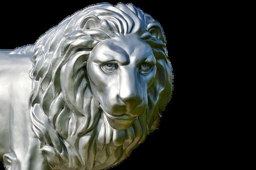 Lion, Sculpture, Figure, Stone Sculpture, Rock Carving