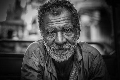 Old Man, Portrait, Street, Man, Old, Senior, Person
