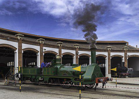 Locomotive, Train, Railway, Transport, Via, Trains