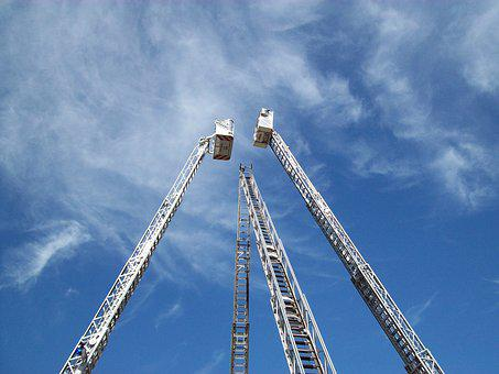 Fire, Turntable Ladders, Ladders, Head