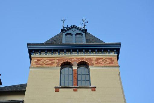 Villa, Remains, Bourgeois, Beautiful, Pretty, Window