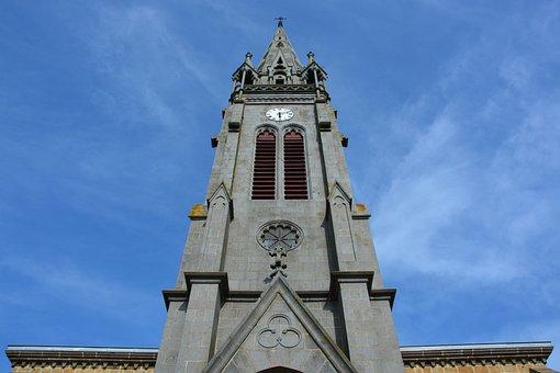 Church, Bell, Saint Méloir Des Ondes, Brittany