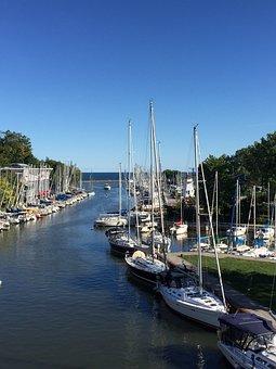 Harbor, Oakville, Sailing, Marina, Ontario, Canada